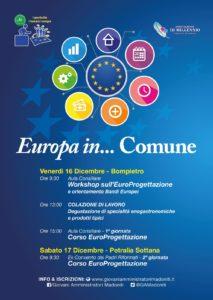 locandina corso europrogettazione